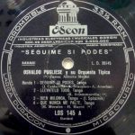 LDS-145 (detail of the record label)