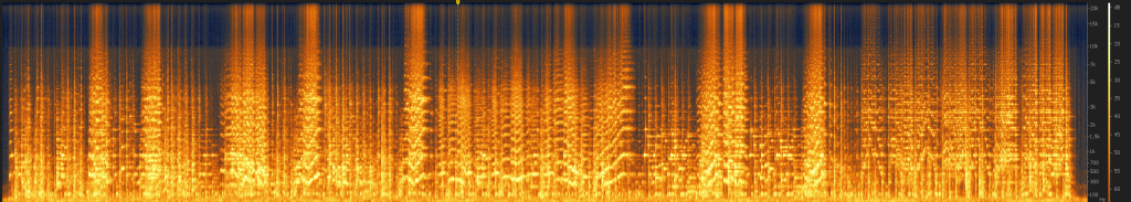 el choclo spectrogram